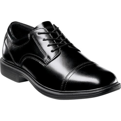 a0105bd19c Shop Men s Nunn Bush Beale St. Black Smooth Leather - Free Shipping Today -  Overstock - 8218649