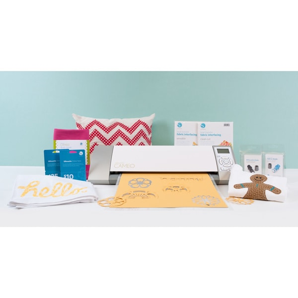 Silhouette Cameo Fabric Bundle Die Cutting Machine +$25 +$10 Download Card. Opens flyout.