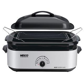 Nesco 18-quart Porcelain Cookwell Roaster Oven|https://ak1.ostkcdn.com/images/products/8219779/8219779/Nesco-18-quart-Porcelain-Cookwell-Roaster-Oven-P15550973.jpg?impolicy=medium