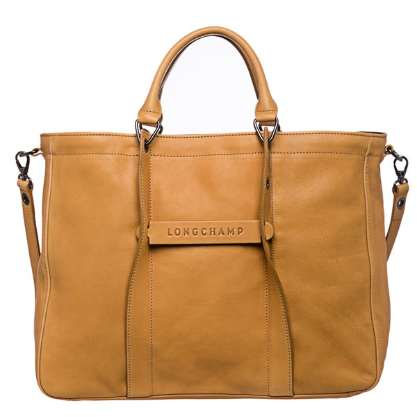 951c71997a5 Shop Longchamp '3D' Large Honey Leather Tote - Free Shipping Today ...