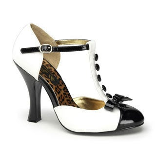 Pinup Couture Women's 'Smitten-10' T-strap D'orsay Pumps (More options available)
