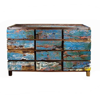 Ecologica Blue/ Multi12-Drawer Dresser