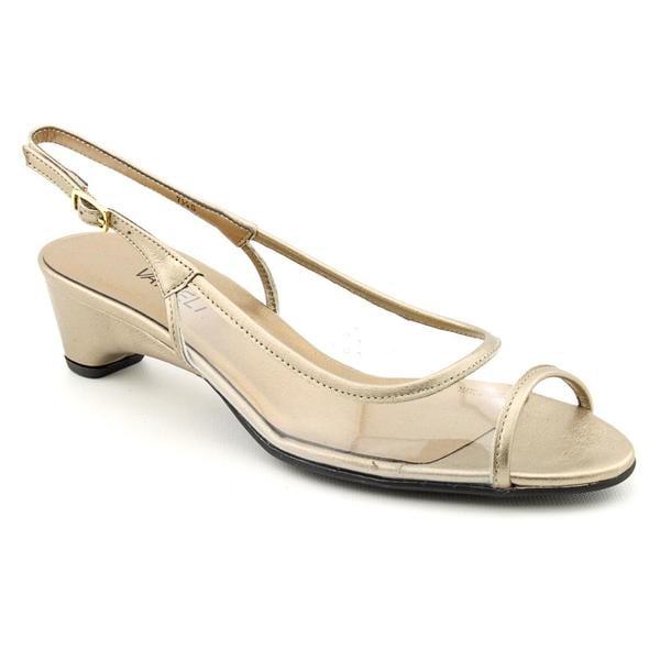 Vaneli Women's Clear 'Briseis' Vinyl Dress Shoes