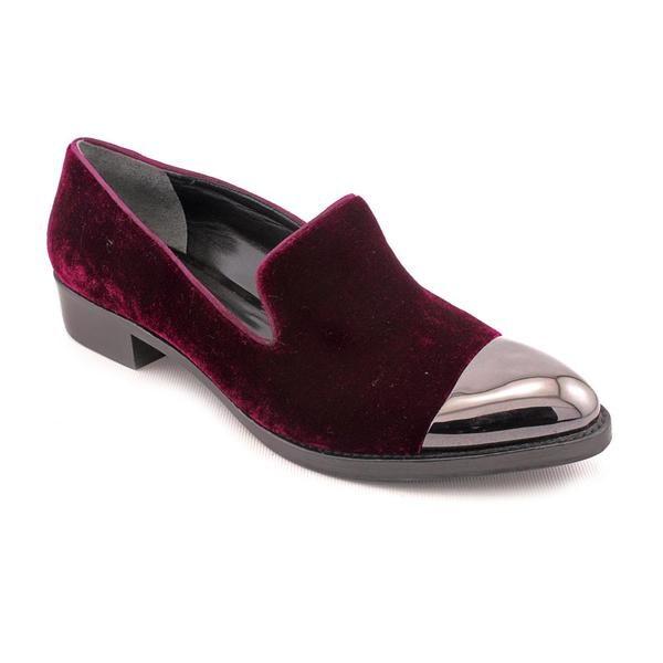 Shop Rachel Roy Women S Burgundy Lyannah Hair Calf Dress Shoes