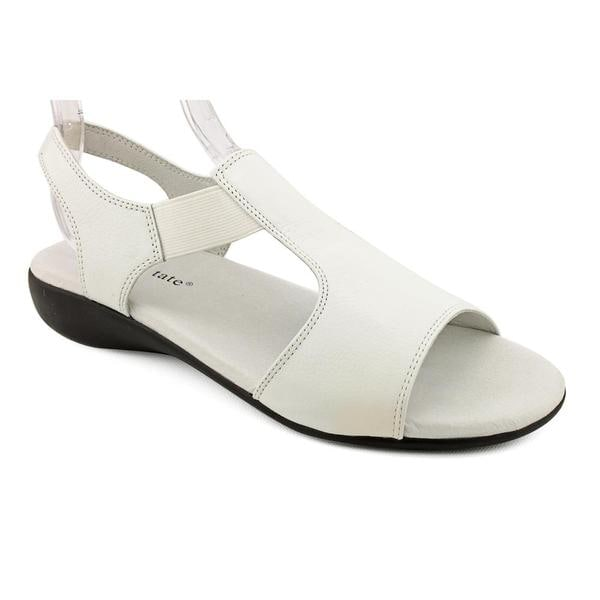 25866030ac0a Shop David Tate Women s  Florence  Leather Sandals - Extra Wide ...