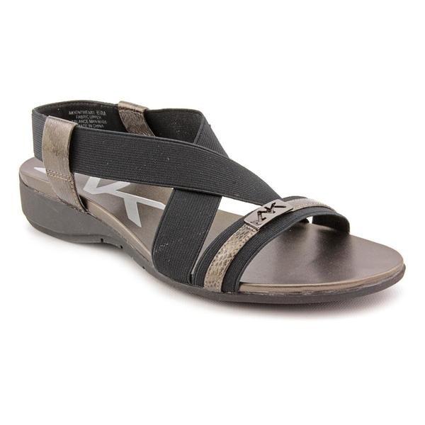 Anne Klein Sport Women S Kind Heart Fabric Sandals