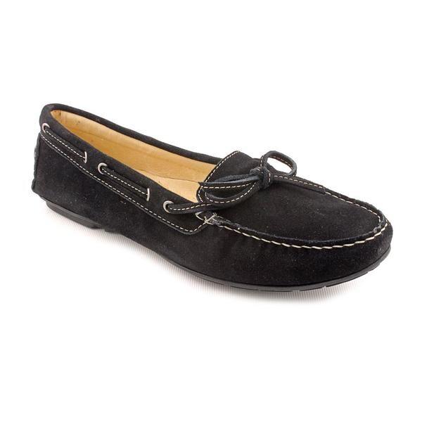 Amiana Women's '15/A0554' Black Regular Suede Casual Shoes