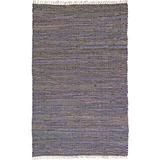 Hand-woven Matador Purple Leather and Hemp Rug (9' x 12')|https://ak1.ostkcdn.com/images/products/8223741/8223741/Hand-woven-Matador-Purple-Leather-and-Hemp-Rug-9-x-12-P15554477.jpg?impolicy=medium
