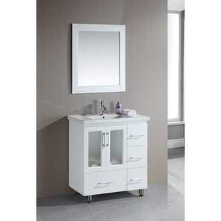 Design Element Stanton 32-inch Single Drop-in Sink Vanity