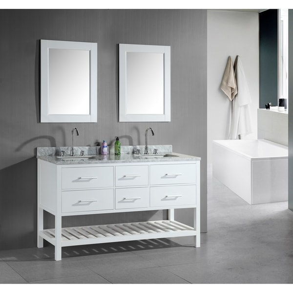 60 white bathroom vanity shop design element 60 inch sink bathroom 15334