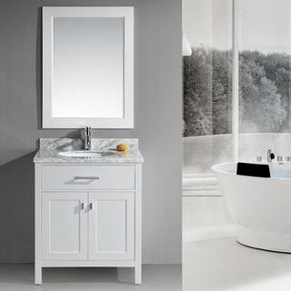 Modest 30 Bathroom Vanity Exterior