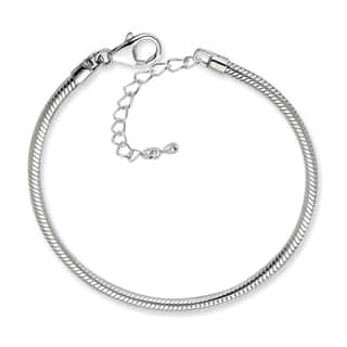 Silverplated Snake Chain Charm Bracelet|https://ak1.ostkcdn.com/images/products/8223795/8223795/Silverplated-Snake-Chain-Charm-Bracelet-P15554513.jpg?impolicy=medium