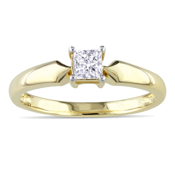 Shop Miadora 10k Yellow Gold 13ct Tdw Diamond Solitaire. 16k Wedding Rings. Wags Engagement Rings. Ice Rings. Drill Bit Engagement Rings. Durable Wedding Rings. Partner Engagement Rings. Makeup Engagement Rings. Non Conventional Engagement Rings