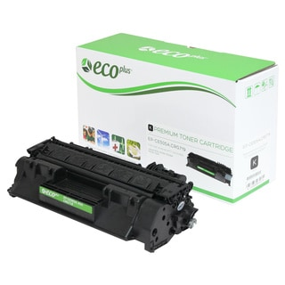 EcoPlus HP EPCE505A Remanufactured Toner Cartridge (Black)