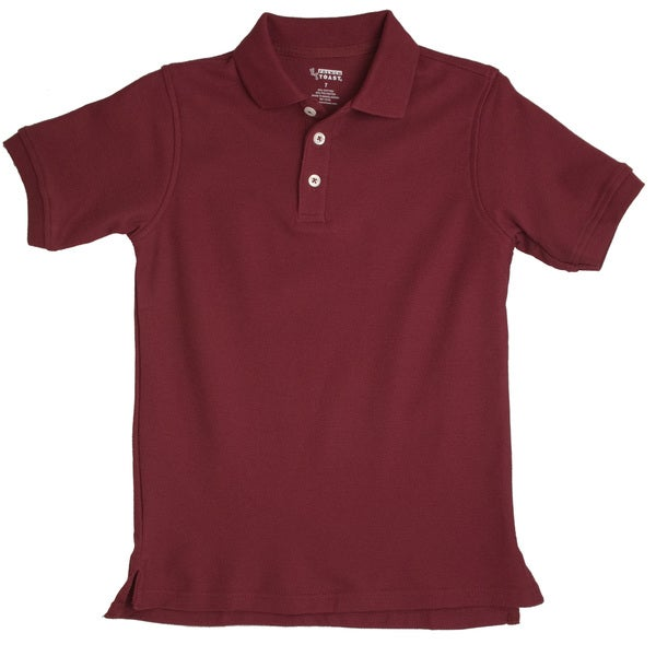 d0e23f3dcdcf Shop French Toast Toddler Boys Burgundy Short Sleeve Pique Polo Shirt -  Free Shipping On Orders Over $45 - Overstock - 8224000