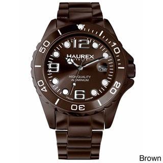 Haurex Ink Women's Aluminum Date Watch