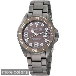 Haurex Ink Women's Aluminum Date Watch|https://ak1.ostkcdn.com/images/products/8224083/Haurex-Ink-Womens-Aluminum-Date-Watch-P15554753.jpg?impolicy=medium
