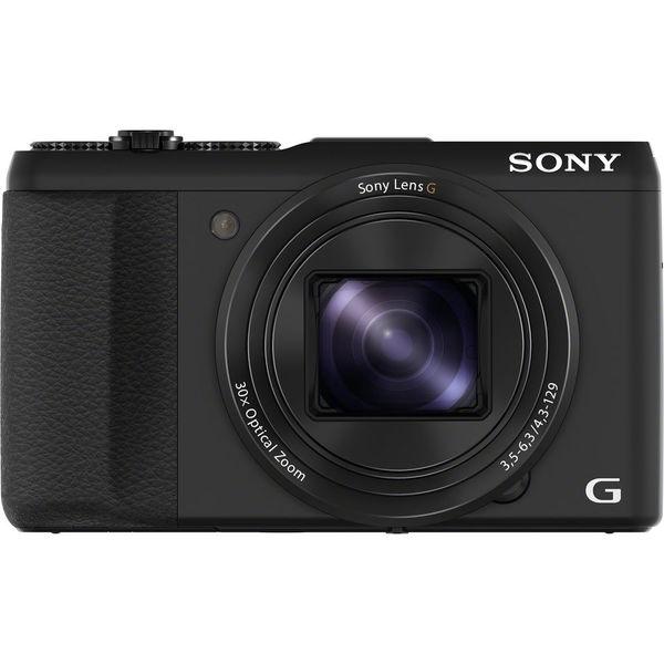 Sony Cyber Shot HX50V 20.4MP Black Digital Camera