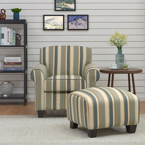 Chair & Ottoman Sets Living Room Chairs | Shop Online at Overstock