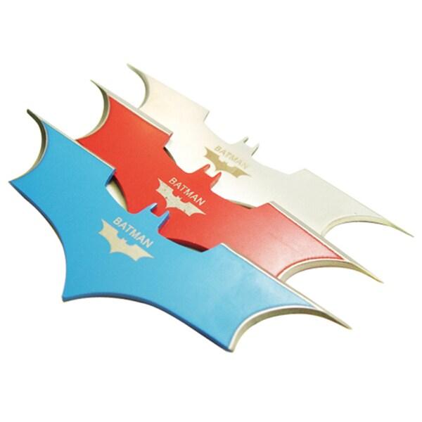 Batman Bat Darts Fixed Blade Batarang Throwing Knives (Pack of 3)