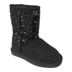 Girls' Lamo Sequin Boot Black