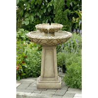 Bird Bath Outdoor Water Fountain