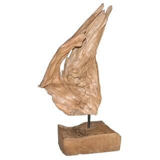 Decorative Rustic Natural Wood Accent Piece