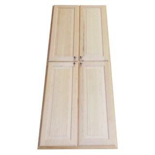 72-inch Double Door Recessed Pantry Storage Cabinet