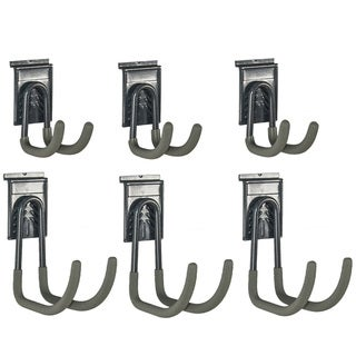 GlideRite Slatwall J-Hooks (Set of 6)