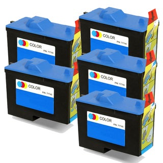 Dell X0504 / 7Y745 (Series 2) Color Compatible Inkjet Cartridge (Pack of 5)