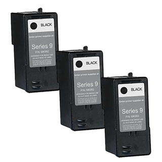 Remanufactured Dell MK992 Series 9 High Capacity Black Ink Cartridges (Pack of 3)