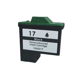 Lexmark #17 10N0017 Black Compatible Ink Cartridge (Pack of 2)