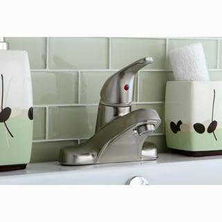 Satin Nickel Single-handle Bathroom Faucet
