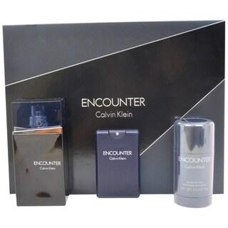 Calvin Klein Encounter Men's 3-piece Gift Set