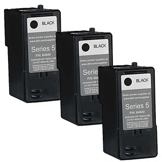 Dell M4640 (Series 5) Black High Yield Compatible Inkjet Cartridge (Pack of 3)
