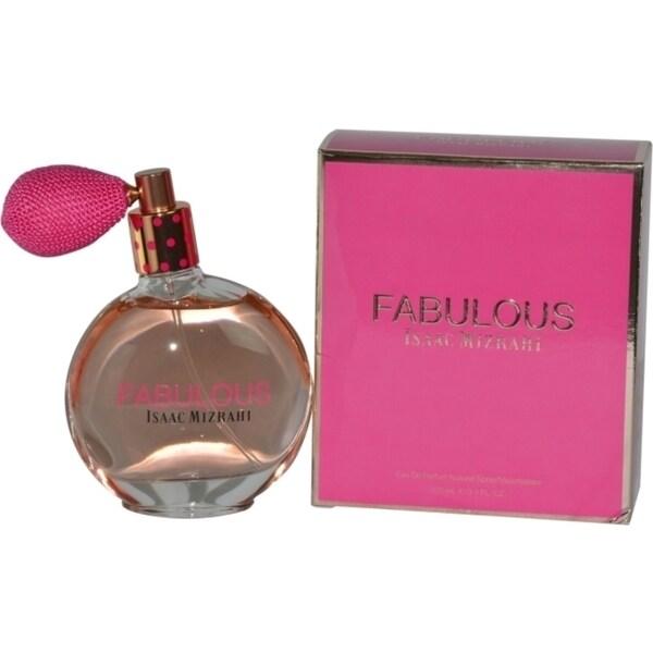 Isaac Mizrahi Fabulous Women's 3.4-ounce Eau de Parfum Spray