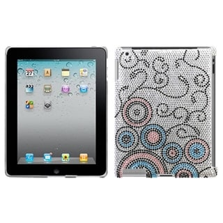 INSTEN Bubble Flow/ Diamond SmartSlim Tablet Case Cover for Apple iPad 1/ 2/ 4