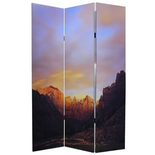 Desert 3-Panel Canvas Screen