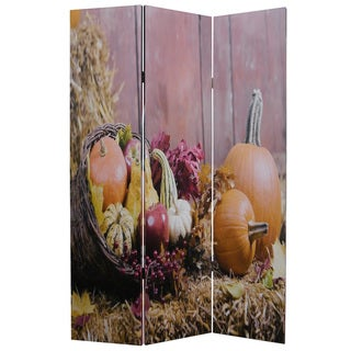 Harvest 3-Panel Canvas Screen