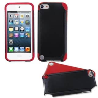 Link to Insten Black/ Red Fusion Hard PC/ Silicone Dual Layer Hybrid Case Cover For Apple iPod Touch 5th/ 6th Gen Similar Items in MP3 & iPod Accessories