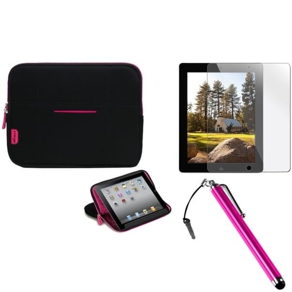 INSTEN Stylus/ Protector/ MySleeve for Apple iPad 2/ 3/ 4/ New/ Retina