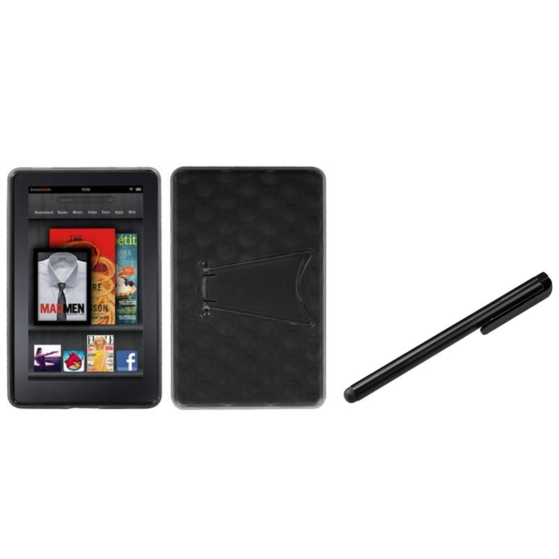 Insten T-Clear Smoke Phone Case Cover/ Black Stylus for A...