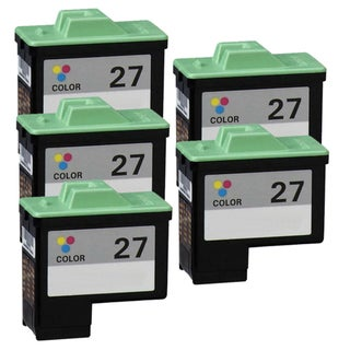 Lexmark #27 (10N0227) Color Remanufactured Ink Cartridge (Pack of 5)