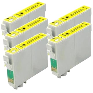 Epson T079420 (T0794) High Yield Yellow Remanufactured Ink Cartridge (Pack of 5)