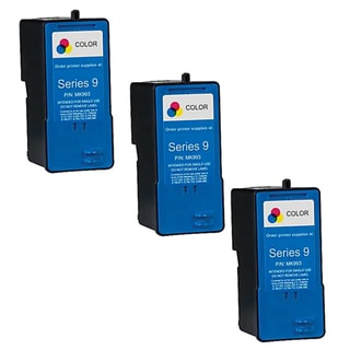 Remanufactured Dell MK993 Series 9 High Capacity Color Ink Cartridges (Pack of 3)