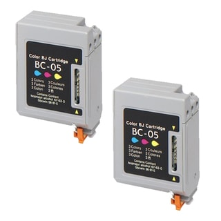 Canon BC05 Color Remanufactured Inkjet Cartridge (Pack of 2)