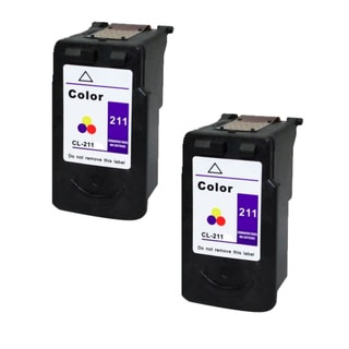 Canon CL-211 Color Remanufactured Inkjet Cartridge (Pack of 2)