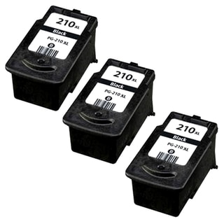 Canon PG-210XL Black Remanufactured Inkjet Cartridge (PacK of 3)