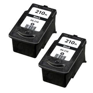 Canon PG-210 Black Remanufactured Inkjet Cartridge (Pack of 2)