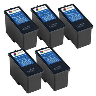 Remanufactured Dell CN596 948/ V505 Series 11 High Capacity Color Ink Cartridges (Pack of 5)